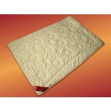 GARANTA Merino Extra-Leichtsteppbett, weiß Bettdecke 135x200 cm
