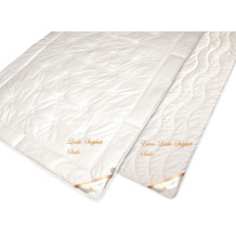 GARANTA Seiden Sommer-Steppbett Silk Wash Bettdecke 135/200