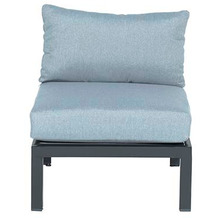 Garden Impression Annabella lounge Sessel carbon black/ mint grey