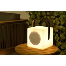 Garden Impression Blocko Beleuchtung H20cm anthracite handle/ BT speaker