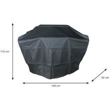 Garden Impression Coverit Gas Grillabdeckung L 148/70x62xH110
