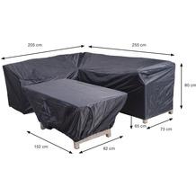 Garden Impression Coverit Lounge / Ess-Hacken 205/255x73xH80 & 152x82xH65