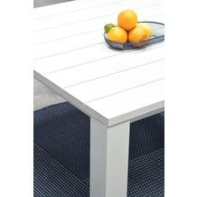 Garden Impression Cube Tisch matt weiß