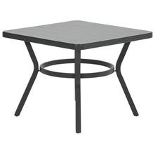Garden Impression Douglas dining Tisch 90x90xH71 carbon black
