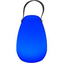 Garden Impression Egg Beleuchtung H20cm black belt