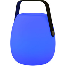 Garden Impression Egg Beleuchtung H23cm anthracite handle