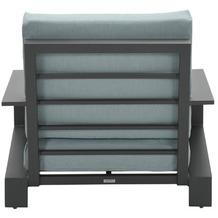 Garden Impression Lincoln lounge Sessel carbon black/ mint grey