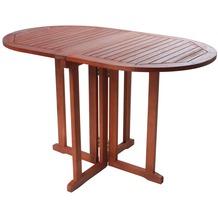 Gartentisch Tischgestell Aus Holz Hertie De