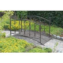 Garden Pleasure Gartenbrücke DUKONO, mit Geländer