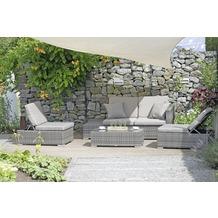 Garden Pleasure Sitzgruppe ALCUDIA, grau