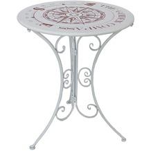 Garden Pleasure Tisch BAYO Metall, weiß