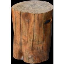 Gardenforma Abdeckung für Gasflaschen, Baumstamm-Optik Eco-Stone,für 11kg Gasbehälter