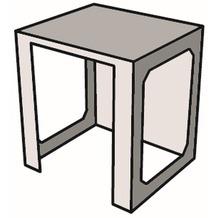 Gardenforma Küchenelement Modul 3 aus GRC Geräteeinschub