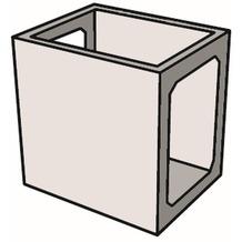 Gardenforma Küchenelement Modul 4 aus GRC Zwischenelement groß