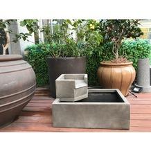 Gardenforma Wasserspiel Alegre, Polyresin inkl. Pumpe und LED-Beleuchtung