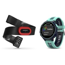 Garmin Forerunner 735XT, Frost Blue, Run Bundle