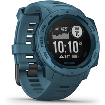 Garmin Instinct Outdoor-Smartwatch, dunkelblau