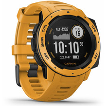 Garmin Instinct Outdoor-Smartwatch gelb