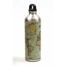 Gift Republic Mann von Welt - Wasserflasche mit Karabiner