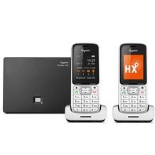 Gigaset SL450A GO Duo, platin / schwarz