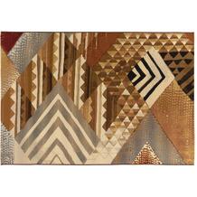 Gino Falcone Outdoorteppich Aurora brown multi 80 x 165 cm