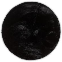 Gino Falcone Teppich Chiara black 40 x 40 cm Rund