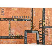 Gino Falcone Teppich Cosima orange multi 80 x 160 cm