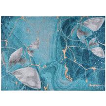 Gino Falcone Teppich Cosima turquoise multi 80 x 160 cm