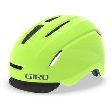 Giro CADEN LED Fahrradhelm matte highlight yellow 20 L