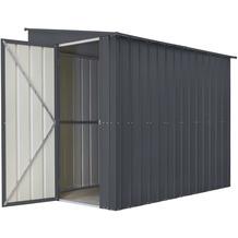 """Globel Anlehngerätehaus """"LeanTo"""" H178, anthrazit 3,37 m²"""