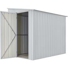 """Globel Anlehngerätehaus """"LeanTo"""" H178, silber metallic 3,37 m²"""
