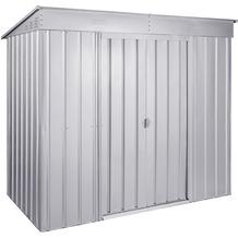 "Globel Pultdach ""Skillion"", silber metallic 2,06 m²"