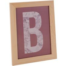 Glorex Bilderrahmen passend für Fotos im DIN A4-Format (21x29,7cm) aus aus Holz Kiefer unbehandelt