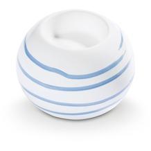 Gmundner Blaugeflammt, Kugel-Leuchter/ 1 Teelicht
