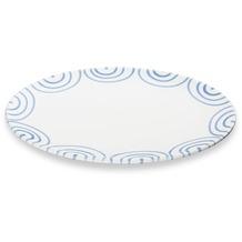 Gmundner Blaugeflammt, Platte oval (28x21cm)
