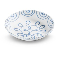 Gmundner Blaugeflammt, Suppenteller Cup (Ø 20cm)