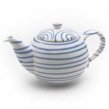 Gmundner Blaugeflammt, Teekanne glatt 1,5L