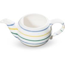 Gmundner Buntgeflammt, Unterteil Teekanne glatt 0,5L