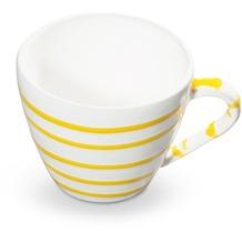 Gmundner Gelbgeflammt, Cappuccino Tasse Gourmet (0,16L)