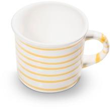 Gmundner Gelbgeflammt, Kaffeehäferl glatt (0,24L)