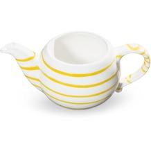 Gmundner Gelbgeflammt, Unterteil Teekanne glatt 0,5L