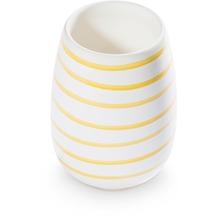 Gmundner Gelbgeflammt, Vase (H: 11cm)