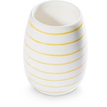 Gmundner Gelbgeflammt, Vase (H: 15cm)