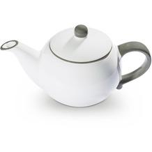 Gmundner Grauer Rand, Teekanne glatt 0,5L
