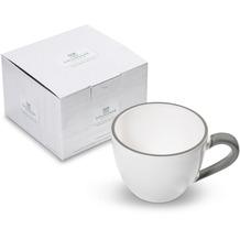 Gmundner Grauer Rand, Teetasse Maxima (0,4 L)