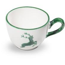 Gmundner Grüner Hirsch, Kaffeetasse glatt (0,19L)