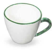 Gmundner Grüner Rand, Cappuccino Tasse Gourmet (0,16L)