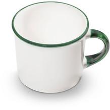Gmundner Grüner Rand, Kaffeehäferl glatt (0,24L)