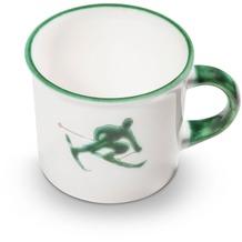 Gmundner Grüner Toni, Kaffeehäferl glatt (0,24L)