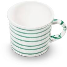 Gmundner Grüngeflammt, Kaffeehäferl glatt (0,24L)